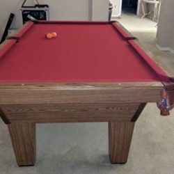 Olhausen 8' Pool Table
