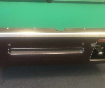 Valley Pool Table Coin Operated Dollar Bill Acceptor