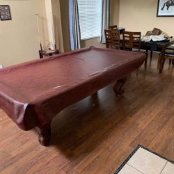 Slated 8Ft Pool Table