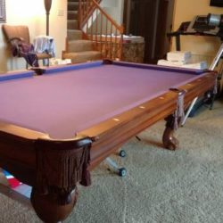 Brunswick 8' Pool Table