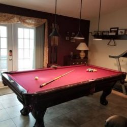 Leisure Time 8' Pool Table