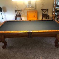 8ft American Heritage Pool Table