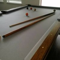 Pool Table Combo Dining Table