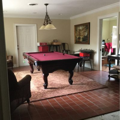 Like New Brunswick Greenbriar Pool Table Delivered to You Assembled with New Felt of Your Choice