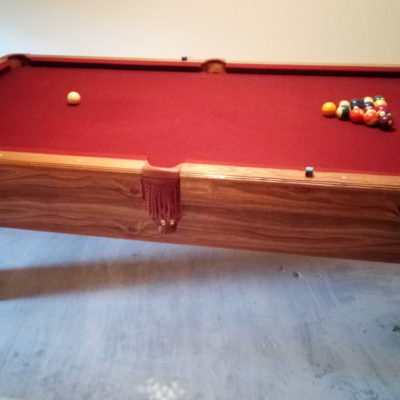 Furniture Style, 3 pc slate Pool Table
