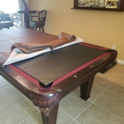 8' Washington Imperial Billiard Table and Accoutrements